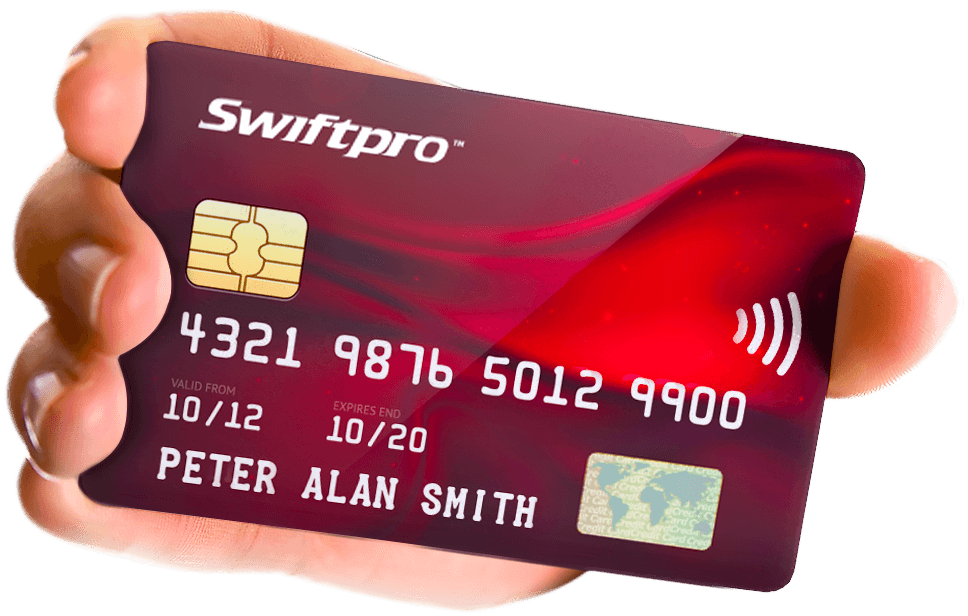 Swiftpro Sample Credit Card